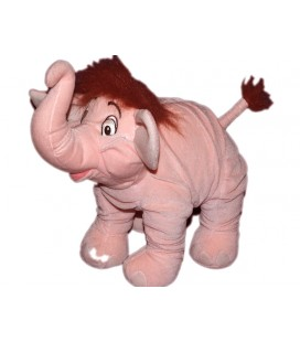 Collector Peluche Dumbo / Le livre de la jungle Elephant rose Disney 28 cm