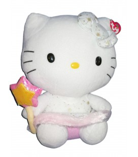 ty-beanie-baby-peluche-hello-kitty-gold-ange-28cm-fee-baguette-magique