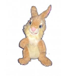 Doudou Peluche Lapin beige Miss Bunny PanPan Disney Store 26 cm