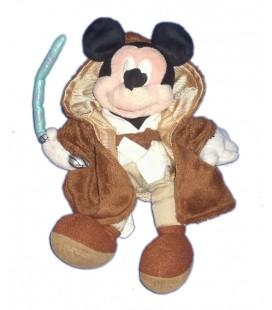 Doudou peluche Mickey Star Wars Jedi Disney Disneyland Paris Collector