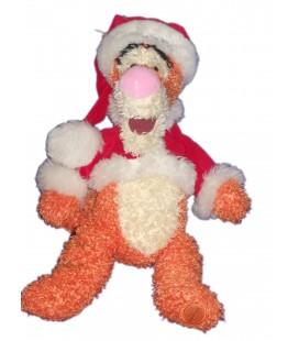 Peluche Tigrou déguisé en Père Noël 42 cm Disney Store Exclusive
