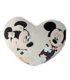 Coussin mariage Mickey Minnie 38 x 30 cm Disney Disneyland Paris