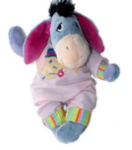 Doudou Peluche BOURRIQUET Combinaison pyjama Capuche rose 25 cm 587/1036