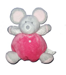 Ball comforter Mouse gray pink OBAIBI 20 cm Grelot As new