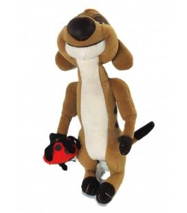 Peluche doudou TIMON et sa Coccinelle - Le roi Lion - Disney Disneyland 30 cm