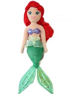 Peluche Doudou Ariel La Petite Sirène Disney 52 cm