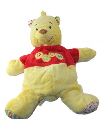 peluche winnie range pyjama 54 cm pooh disney baby nicotoy 5879781. Black Bedroom Furniture Sets. Home Design Ideas