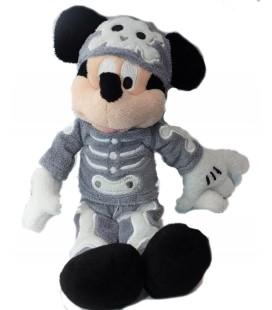 Doudou peluche Mickey déguisé squelette Disneyland Paris Collector 24 cm