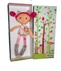 Mini poupée Alice Doudon en tissu - Lilliputiens - 30 cm