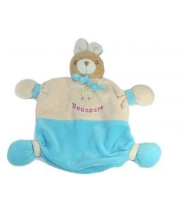 Flat comforter Rabbit beige pink blue Teddy