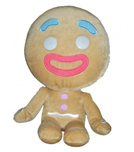 Peluche doudou Ti Biscuit Shrek Big Headz Dreamworks 24 cm