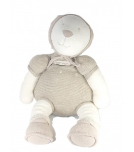 Doudou peluche ours Linvosges MRSA Moulin Roty Les 3 Ours 40 cm