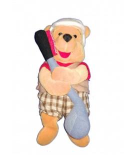 Collector Doudou peluche Winnie Edition Limitée Golf Pooh 24 cm