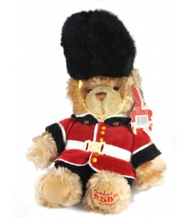 Peluche ours Garde royale anglais Guardsman Hamleys Collector 250th Birthday 35 cm