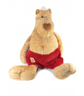 Plush soft toy Bear beige red shorts Heart NICI Gd Mod. 45 cm