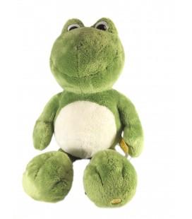 Doudou Peluche grenouille verte NICI 35 cm