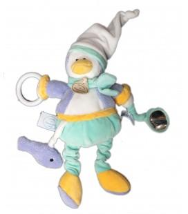 Doudou et Compagnie Graines de Doudou Pingouin Pantin d'activités