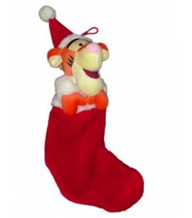 CHAUSETTE de Noel - Doudou peluche TIGROU Long. 45 cm environ