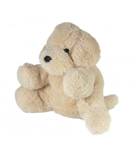 Peluche Chien beige clair Monop Monoprix Dream International 22 cm