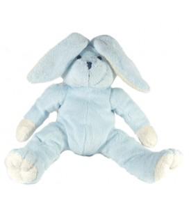 Doudou peluche Lapin bleu Graine D'éveil - 26 cm - Eveil et Jeux