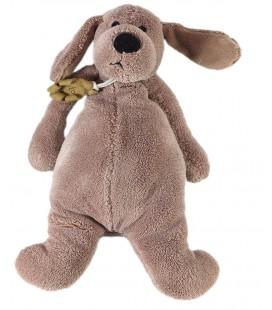 Doudou peluche Histoire d'Ours chien marron Frimousses 22 cm HO1396