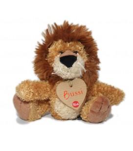Doudou Peluche Lion beige marron Bussi Trudi 18 cm