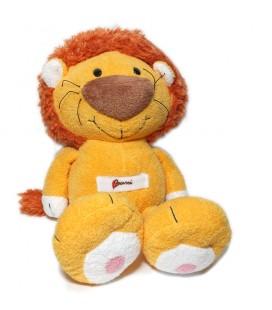 Doudou Peluche Lion orange Bussi Trudi 36 cm