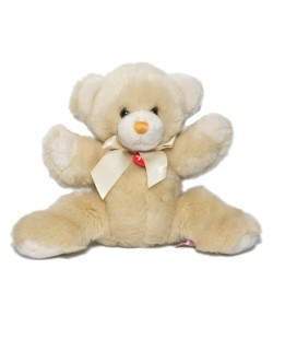 Doudou Peluche Ours beige Trudi 22 cm