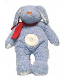 Doudou peluche Chien Lapin Pitou Corolle bleu lavande 32 cm