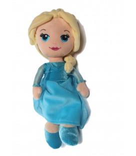 Peluche Doudou Princesse Disney Elsa la Reine des Neiges 32 cm