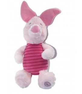 Peluche Doudou Porcinet Disney Store 42 cm Longs poils Scratch dans le dos