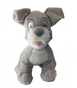 Doudou peluche La Belle et le Clochard Lady and the Tramp Disney Baby Disney Store 28 cm