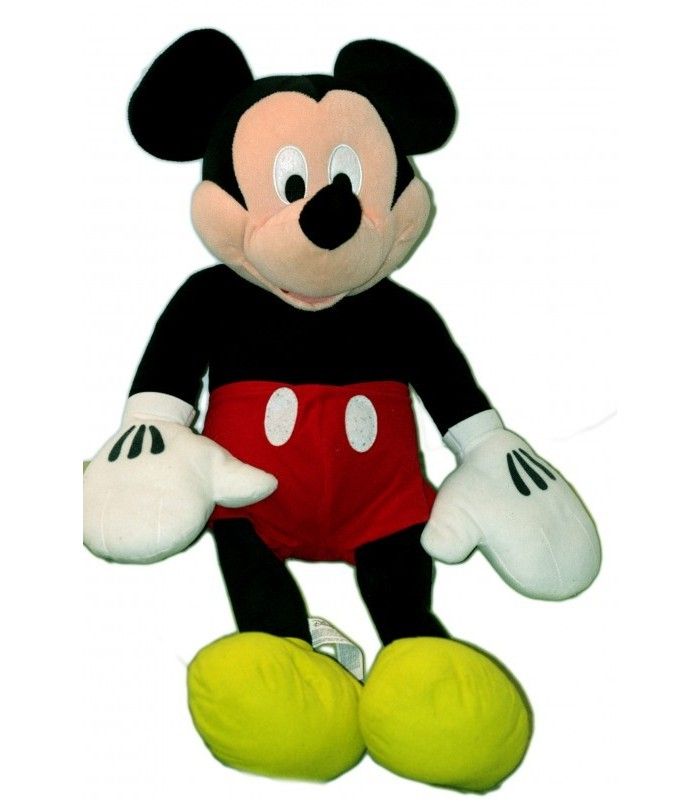 grande peluche xxl doudou mickey short rouge. Black Bedroom Furniture Sets. Home Design Ideas