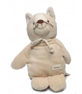 Doudou chat beige Prémaman 25 cm