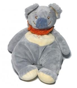Noukies - Koala bleu Cuby Tidou 26 cm Foulard orange