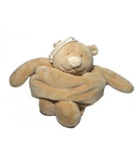 Noukies - Doudou Ours beige Tonton Peluche musicale 20 cm