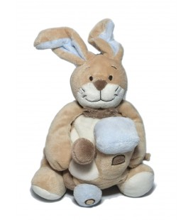 Noukies - Doudou Lapin beige train 26 cm HS / Ne fonctionne plus