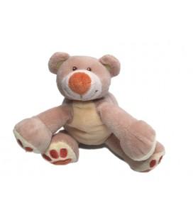 Doudou ours beige Nattou 14 cm