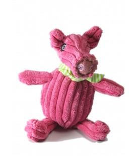 Doudou Cochon rose Jambonos Les Deglingos 22 cm