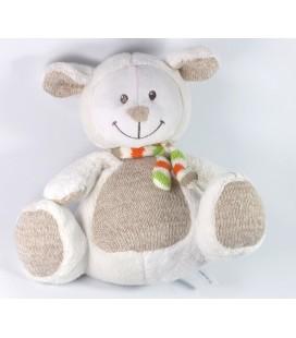 Nicotoy Doudou peluche Mouton blanc 22 cm 5700340