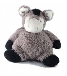 Doudou Peluche Ane gris Maxita 32 cm