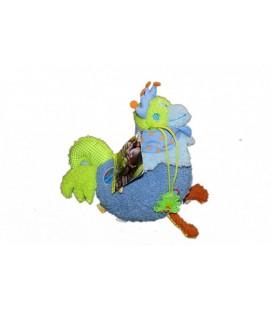 Doudou peluche POULE - BaCLaDI - Chicken plush - 20 cm - Dushi