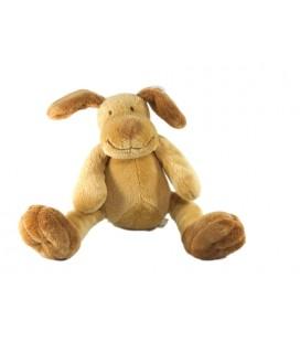 Doudou chien beige marron Maxita 22 cm