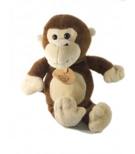 Doudou peluche Singe marron Monkey Maxita 23 cm
