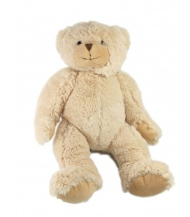 Doudou peluche Ours beige Histoire d'ours 35 cm