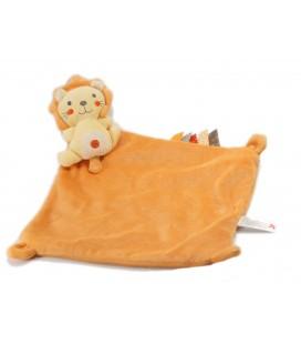 Doudou plat Lion orange Nicotoy 579/8830