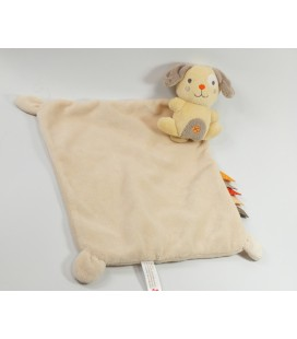 Doudou plat souris orange Nicotoy 579/7053