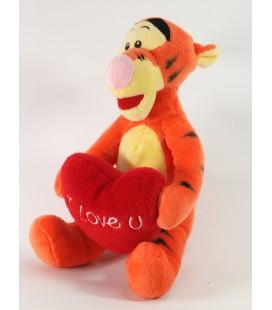Doudou Tigrou Coeur I love You 20 cm Disney Nicotoy 587/4217