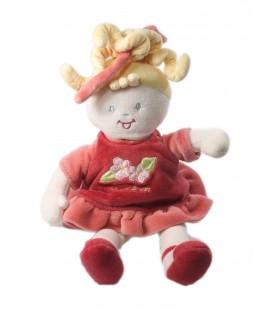 Doudou poupée rose Sucre d'Orge 28 cm