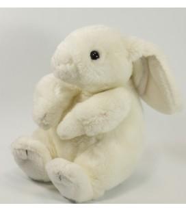 Peluche Doudou Lapin blanc 20 cm Gipsy